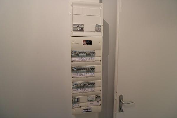 Rénovation électrique d'une maison