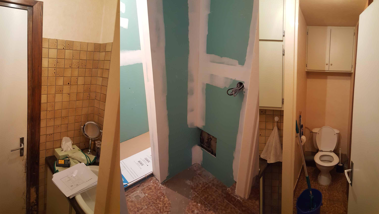 Rénovation d\'une salle de bains à Chasselay dans le Rhône