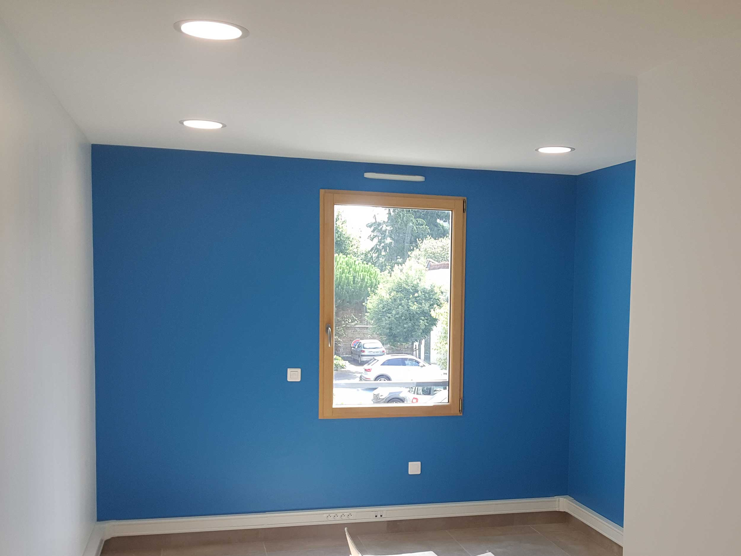 Rénovation intérieure d'un cabinet médical de médecins à Villefranche
