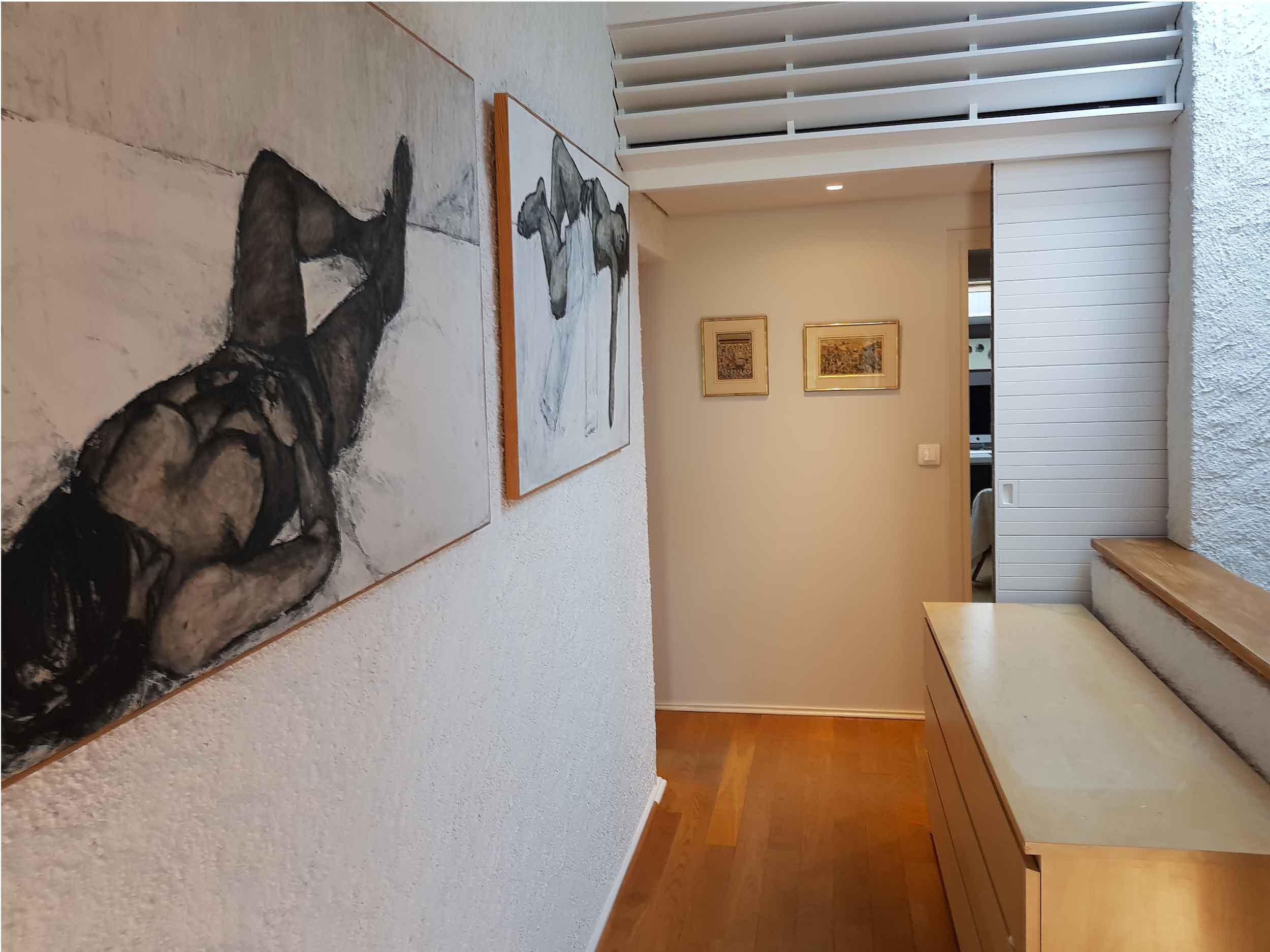 Rénovation d'une maison par un artisan peintre à Lyon