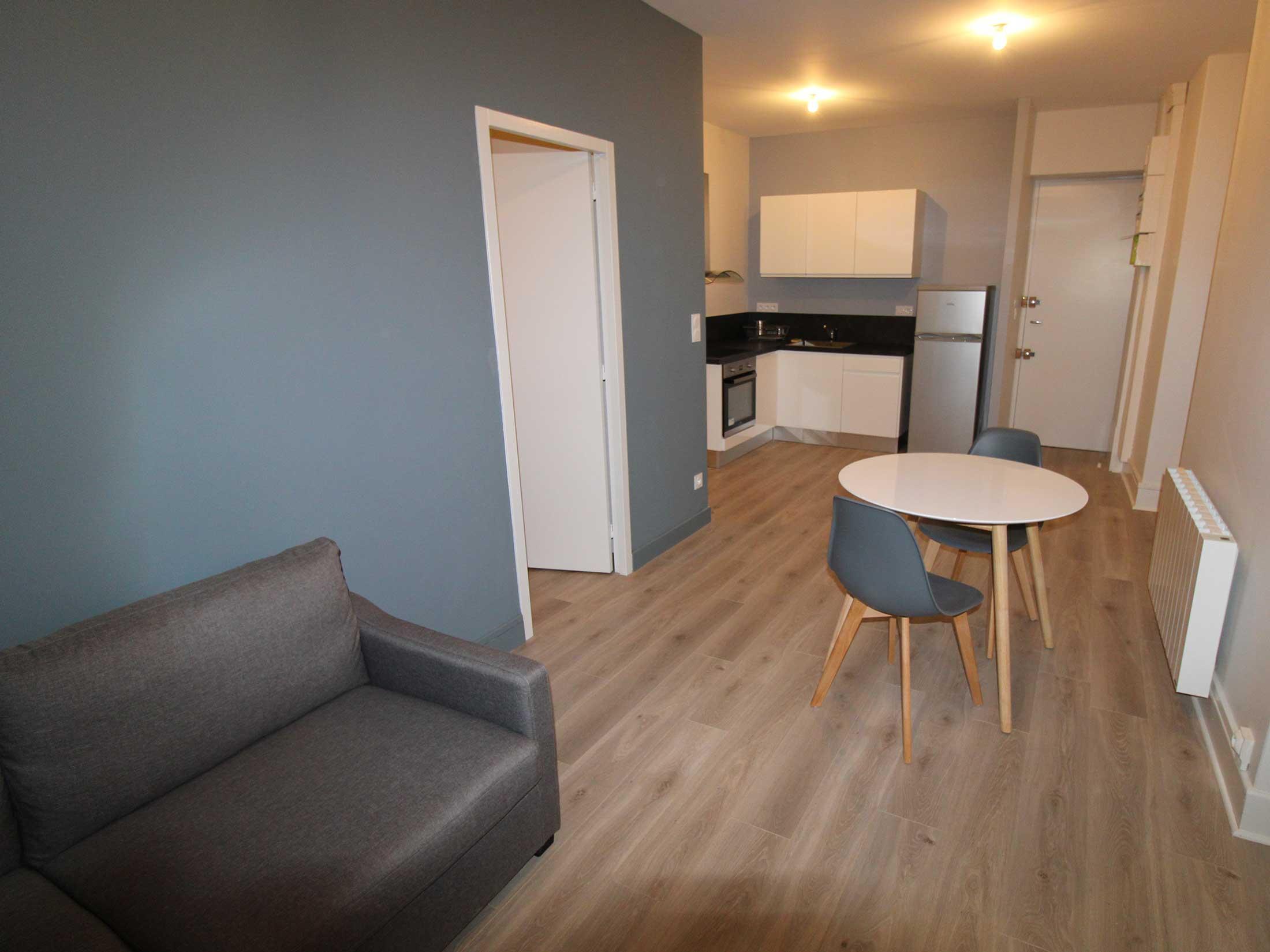 Projet de transformation d'un plateau en un appartement à Villefranche