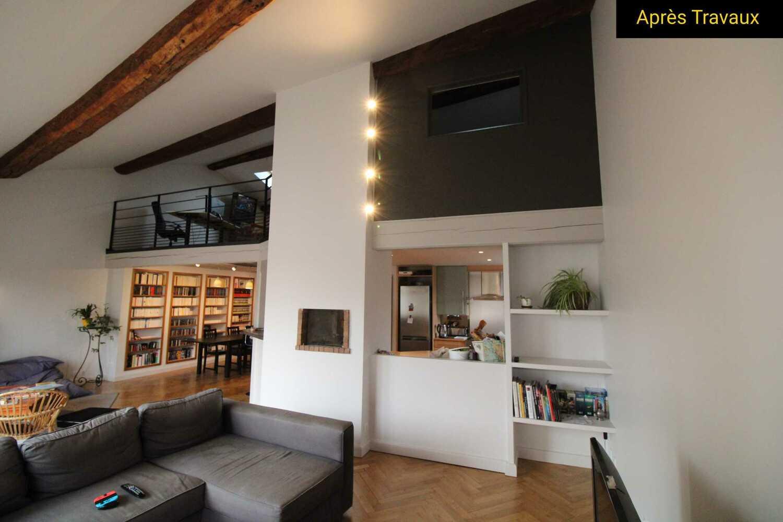 Rénovation d'un appartement dans le centre-ville de Villefranche